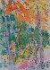 Garden of Eden Watercolor 1984 7x5 Watercolor by Carlos Almaraz - 3