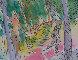 Garden of Eden Watercolor 1984 7x5 Watercolor by Carlos Almaraz - 4