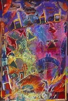 Fool's Paradise 1986 Limited Edition Print by Carlos Almaraz