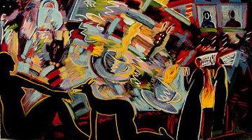 Pleasure is Mine (Tea cups)  1990  Limited Edition Print by Carlos Almaraz