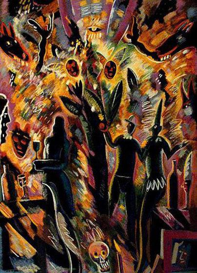 Tree of Life 1989 45x38 Limited Edition Print by Carlos Almaraz