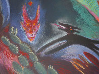 Southwest Song AP 1988 Super Huge  Limited Edition Print by Carlos Almaraz - 3