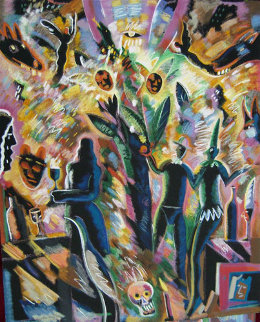 Tree of Life AP 1989 Limited Edition Print by Carlos Almaraz