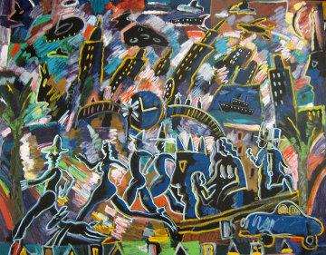 Clock Struck 3 AP 1989 Limited Edition Print by Carlos Almaraz