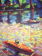 Echo Park 3 AP 1990 41x41 Limited Edition Print by Carlos Almaraz - 1