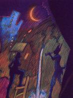 Moonlight Theater AP 1989 Limited Edition Print by Carlos Almaraz - 2