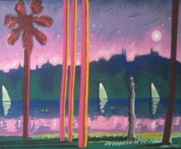 Suave Como La Noche 1985 Limited Edition Print by Carlos Almaraz