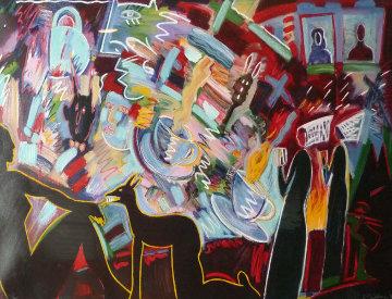 Pleasure Is Mine 1990  Limited Edition Print by Carlos Almaraz