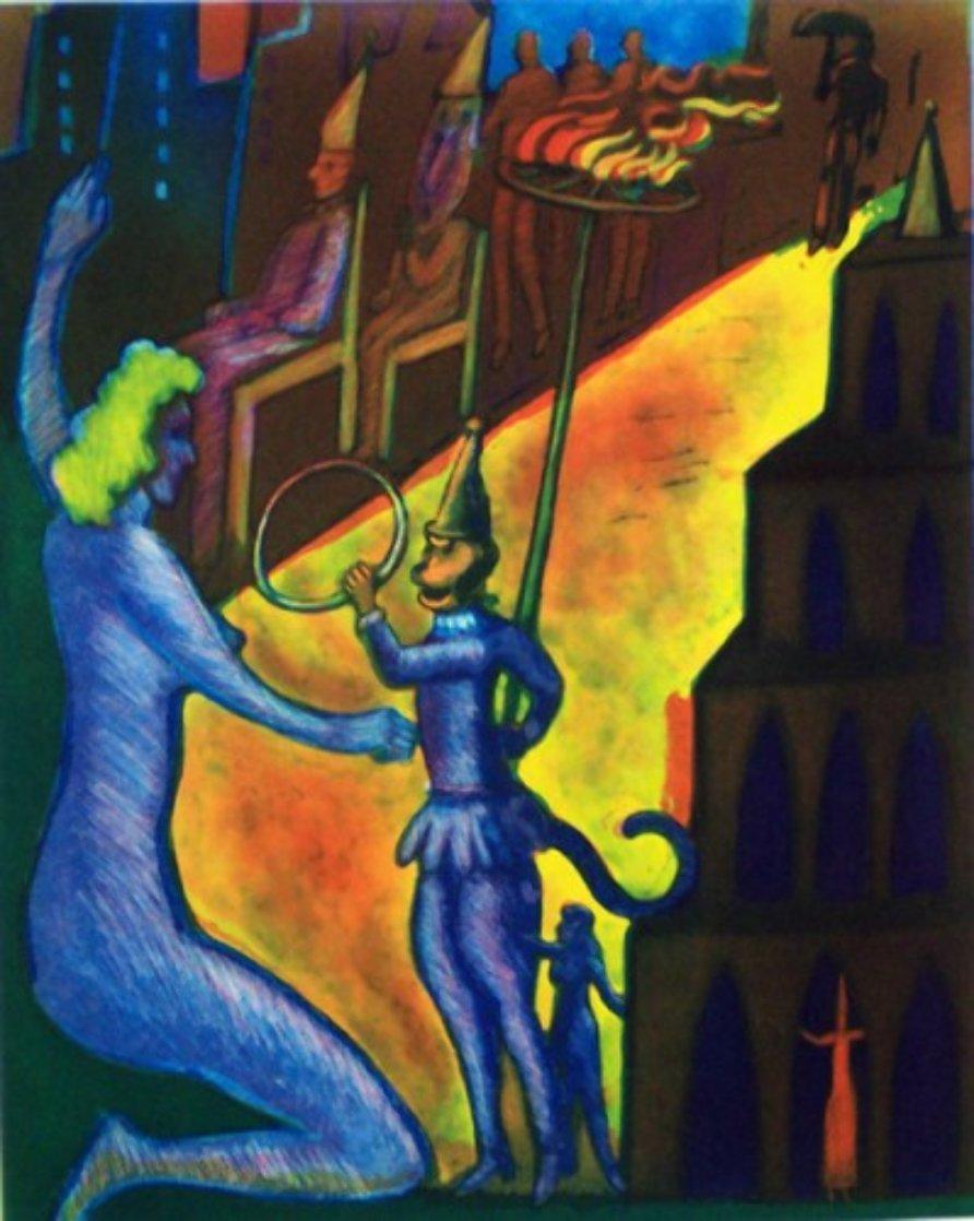 Citadel PP 1988 Limited Edition Print by Carlos Almaraz