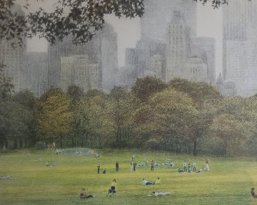 Sheepmeadow 1983 Limited Edition Print - Harold Altman