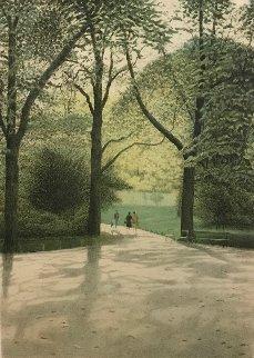 Parc Monceau 1984 Limited Edition Print - Harold Altman