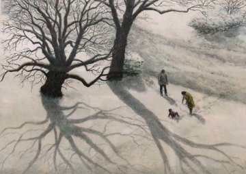 December AP 1987 Limited Edition Print by Harold Altman