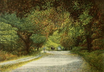 Bridle Path 1986 IV AP Limited Edition Print - Harold Altman