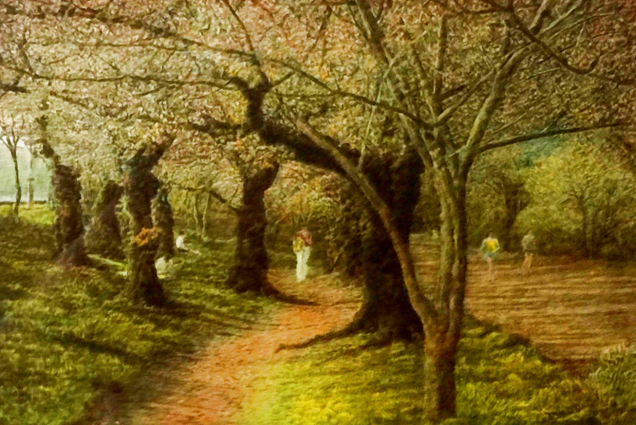Jogging in Central Park III Limited Edition Print by Harold Altman