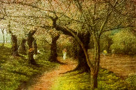 Jogging in Central Park III Limited Edition Print by Harold Altman - 0