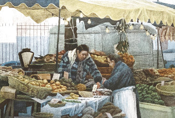 Two Market Women 1983 Limited Edition Print - Harold Altman