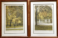 Fall I-IV Series Suite of 4 AP  Limited Edition Print by Harold Altman - 4