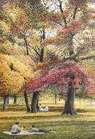 Fall I-IV Series Suite of 4 AP  Limited Edition Print by Harold Altman - 2
