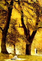 Fall I-IV Series Suite of 4 AP  Limited Edition Print by Harold Altman - 3