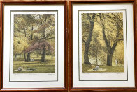 Fall I-IV Series Suite of 4 AP  Limited Edition Print by Harold Altman - 5