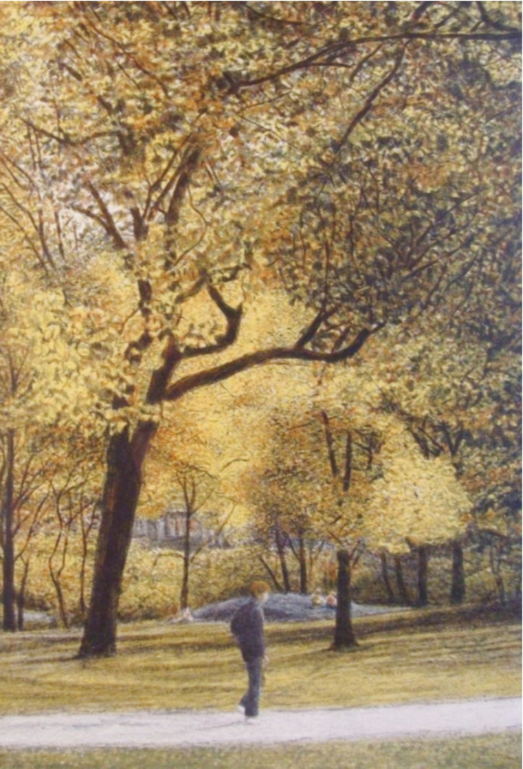 Fall I-IV Series Suite of 4 AP  Limited Edition Print by Harold Altman