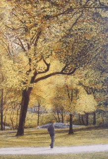 Fall I-IV Series Suite of 4 AP  Limited Edition Print - Harold Altman
