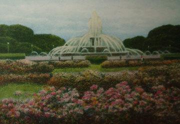Buckingham Fountain 1994 Limited Edition Print - Harold Altman