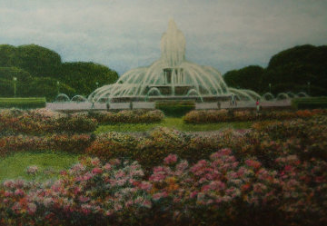 Buckingham Fountain 1994 Limited Edition Print by Harold Altman