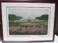 Buckingham Fountain 1994 Chicago Limited Edition Print by Harold Altman - 1