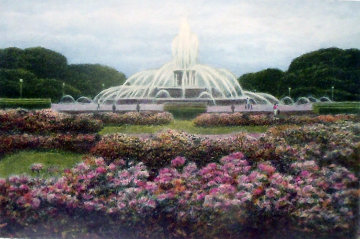 Buckingham Fountain 1994 Chicago Limited Edition Print by Harold Altman