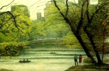 Central Park 1987, New York Limited Edition Print by Harold Altman