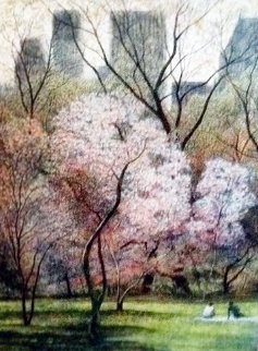 Spring Blossoms, New York AP 1987 Limited Edition Print - Harold Altman