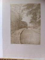 Parc Mont Souris III  1982 Limited Edition Print by Harold Altman - 1