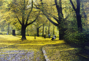 Autumn Parc Montsouris 1985 Limited Edition Print by Harold Altman