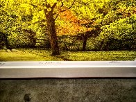 Yellow Tree 1987 Limited Edition Print by Harold Altman - 2