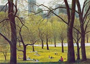 Early Spring 1987 New York Limited Edition Print by Harold Altman
