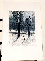 Walking Man AP 1985  Limited Edition Print by Harold Altman - 4