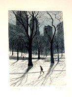 Walking Man AP 1985  Limited Edition Print by Harold Altman - 3