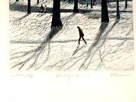 Walking Man AP 1985  Limited Edition Print by Harold Altman - 2