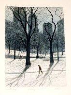 Walking Man AP 1985  Limited Edition Print by Harold Altman - 1