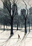 Walking Man AP 1985  Limited Edition Print by Harold Altman - 0