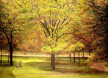 Central Park II 1990 (New York) Limited Edition Print by Harold Altman
