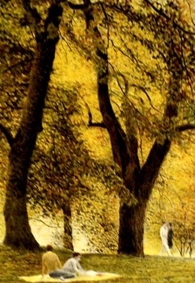 Fall I 1985 (Central Park) Limited Edition Print by Harold Altman