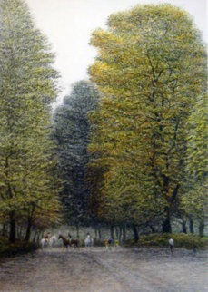 Bridle Path 1985 Limited Edition Print by Harold Altman