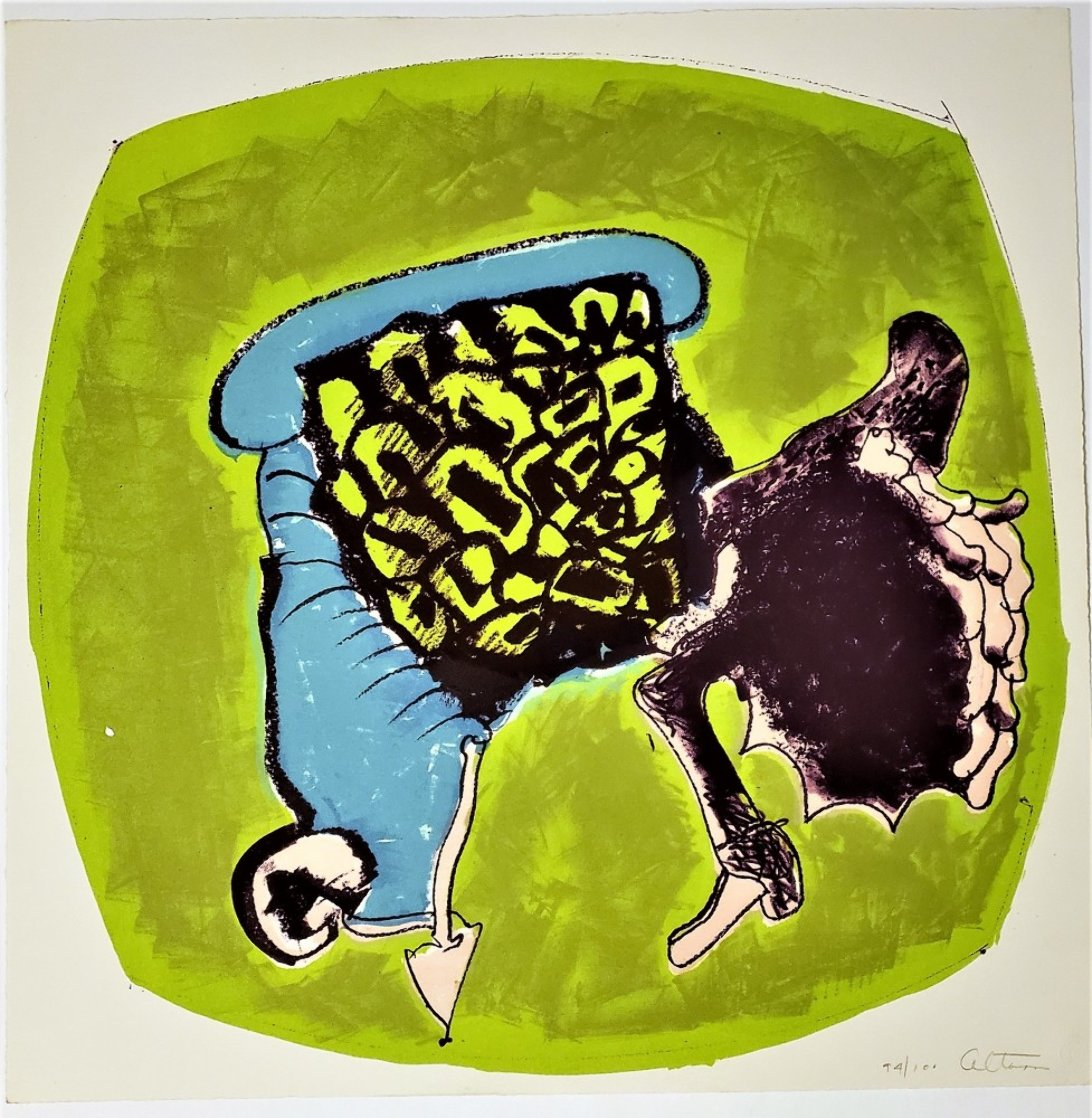 About Women - The Complete Portfolio of 10  Lithographs 1965  Limited Edition Print by John Altoon
