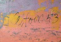 Coffee Drinkers 1953 26x32 Original Painting by John Altoon - 3
