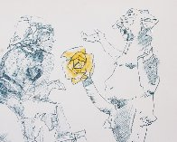 Untitled Lithograph 1967 Limited Edition Print by John Altoon - 0