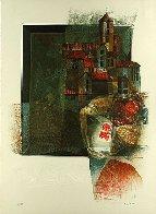 Vision De Poeta Suite of 4  Limited Edition Print by Sunol Alvar - 1