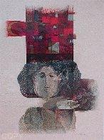 Vision De Poeta Suite of 4  Limited Edition Print by Sunol Alvar - 2