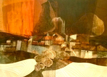 Passage Rouge 1979 Limited Edition Print by Sunol Alvar